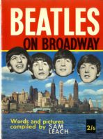 Beatles,The - Beatles On Broadway - 1964 Book/Mag.